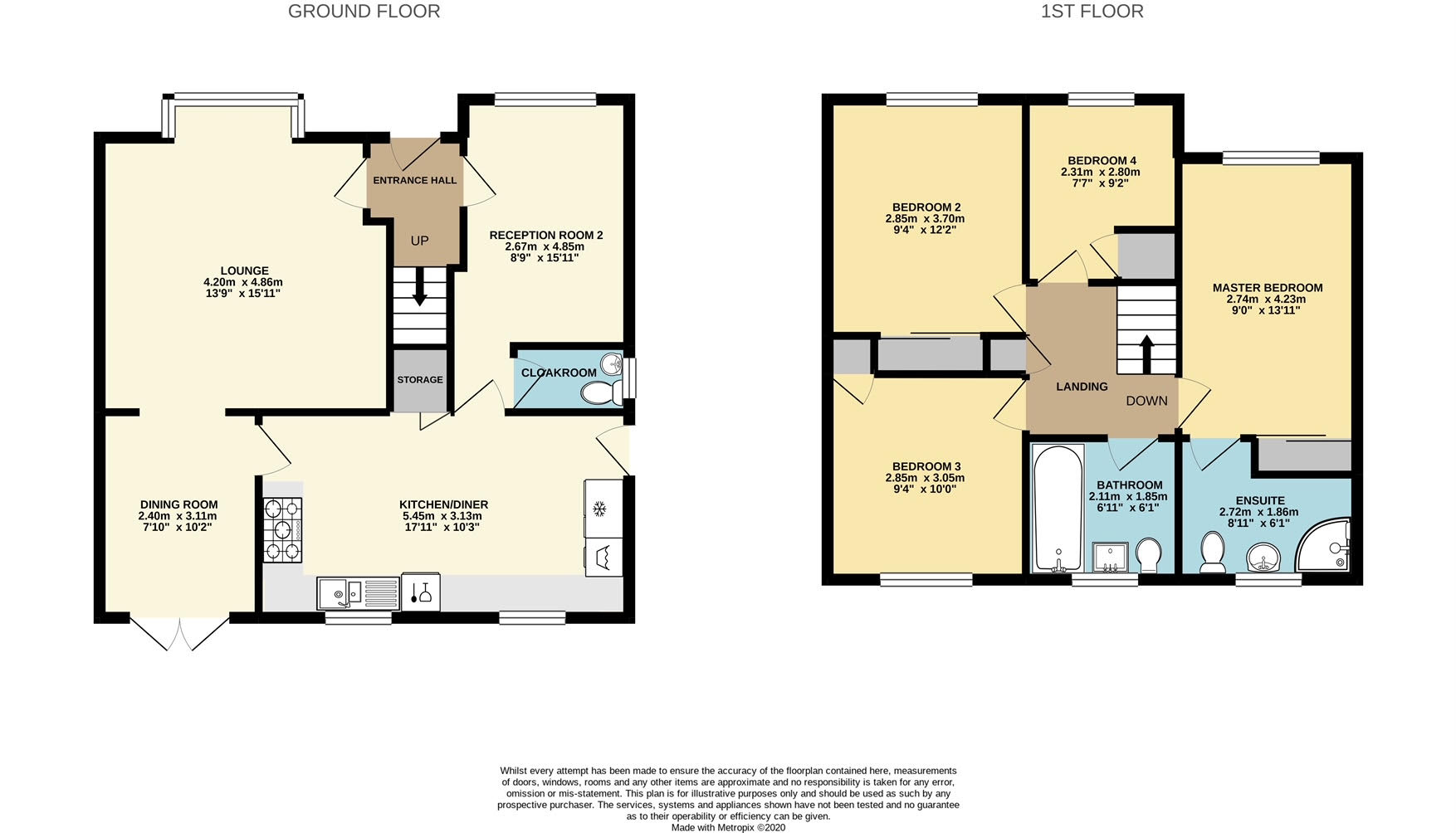 House For Sale, Whitewood Lane, Wigan, Floorplan Image