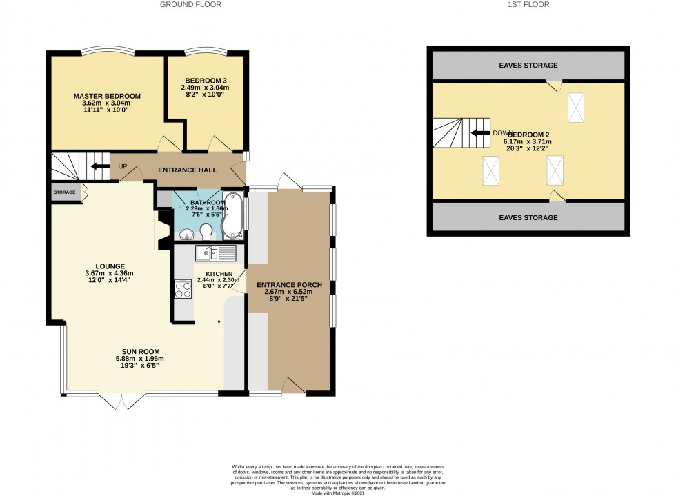 East Mead, Aughton, Ormskirk, L39 Floorplan